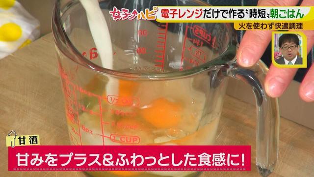 画像5: 涼しくカンタンに!電子レンジで作る朝ごはん♪ ~だし巻き卵~