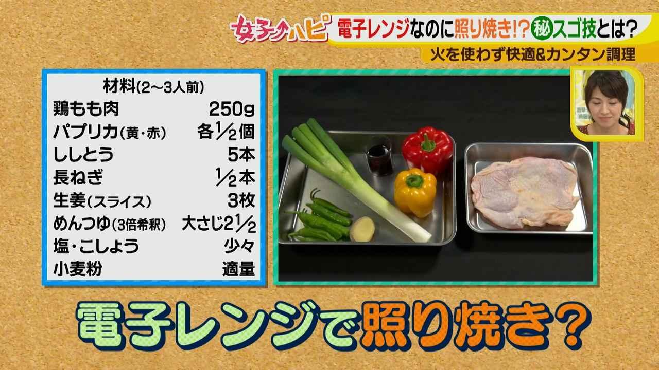 画像2: 涼しく作ろう!夏野菜と鶏の照り焼き風 電子レンジでカンタン&快適調理♪