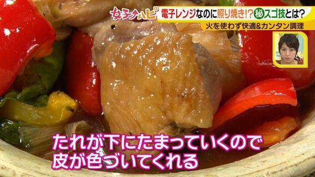画像11: 涼しく作ろう!夏野菜と鶏の照り焼き風 電子レンジでカンタン&快適調理♪