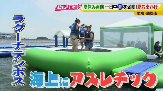 画像7: 朝から晩まで!一日中、海で遊べる蒲郡へ 日本最大級の海上アスレチックもオープン♪