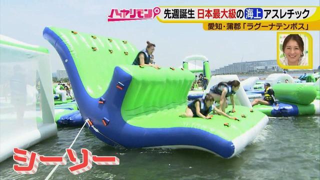 画像8: 朝から晩まで!一日中、海で遊べる蒲郡へ 日本最大級の海上アスレチックもオープン♪