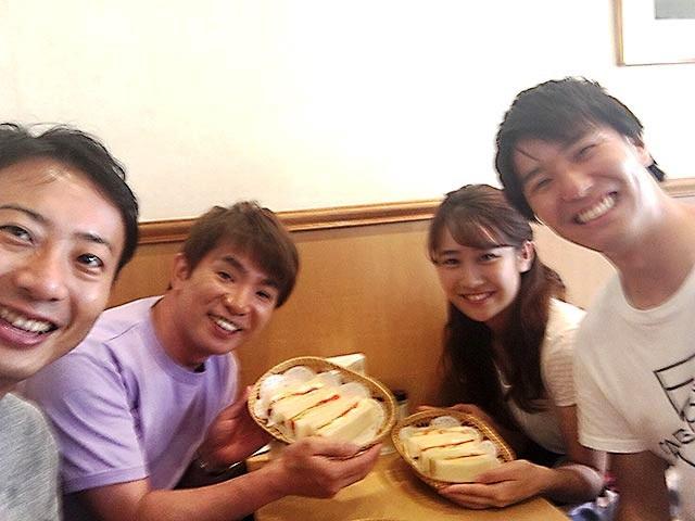 画像: 濱口さんと一緒に。