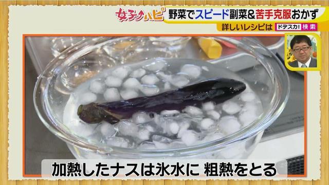 画像7: 野菜の簡単レシピ副菜~やみつきナス~ 3分で味はシミシミ♪キレイな紫!