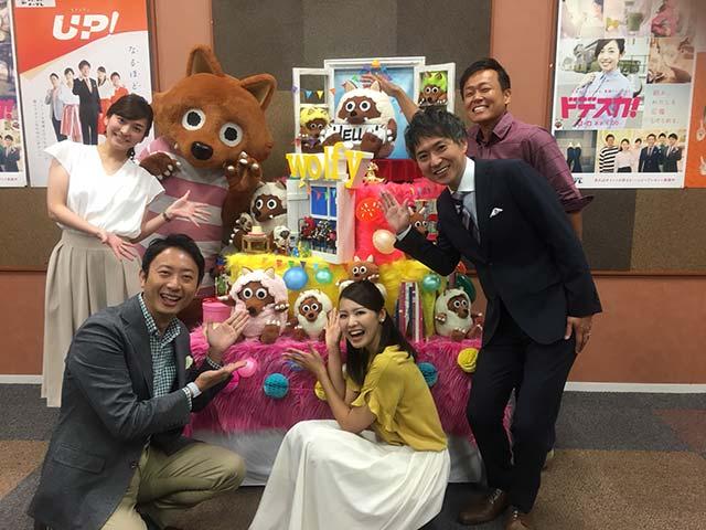 画像: 現メンバー以外にも堂野浩久アナ、井上裕衣アナ、伊豆蔵将太アナも番組を盛り上げます