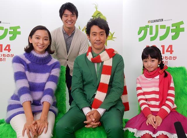 画像: 大泉洋さん、杏さん、横溝菜帆さんと