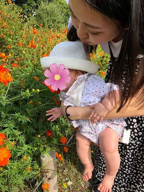 画像: 姪を花好きにするおば