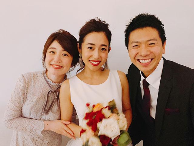 画像: たっぷり幸せをわけて頂きました。お母様への手紙から溢れる奈都子さんの愛に感動!上坂くんと一緒にアフターパーティーの司会を務めました。