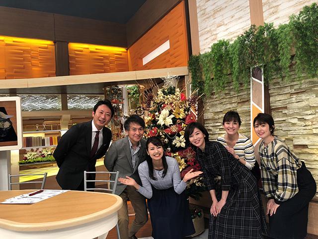 画像: 月曜コメンテーター・伊藤聡子さんとともに!