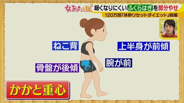 """画像4: 美和さんもびっくり!やせにくいパーツもサイズダウン! """"究極の部分やせエクササイズ""""ほっそり脚で歩くのも楽に♪"""