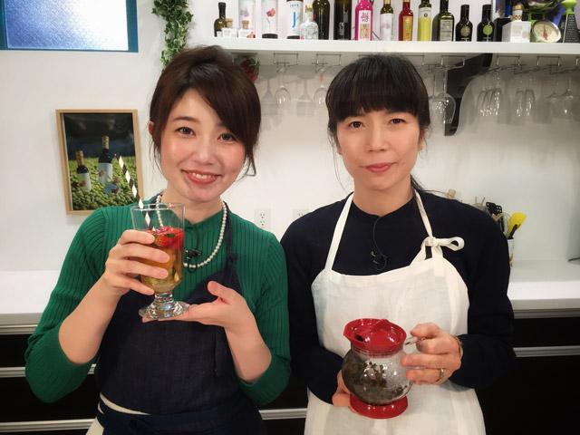 画像: 次回の「女子ハピ」でご紹介するのはお茶のアレンジメニュー!日本茶インストラクターの本間節子さん。