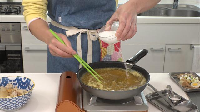 """画像9: 余ったおでんを使った """"カレーうどん"""" のレシピを紹介!「超お手軽!ロバート馬場ちゃんの楽楽ごはん」"""
