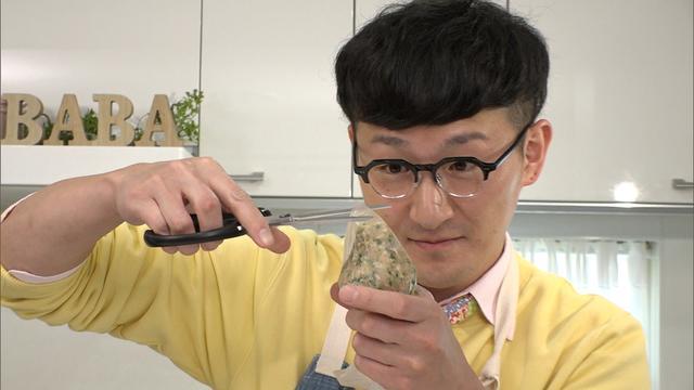 """画像4: うす~いワンタンの皮で作る""""パリパリひと口餃子""""!「超お手軽!ロバート馬場ちゃんの楽楽ごはん」"""