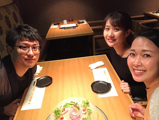 画像: 竹田さん、杏奈さんと。
