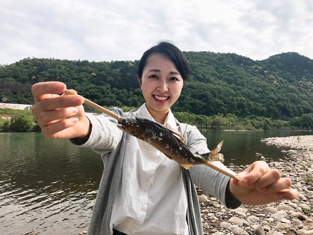 画像: 長良川の鮎は絶品です!