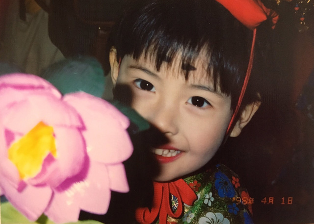 画像: 小学生の頃のわたし
