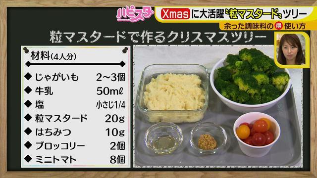 画像2: 余りがちな調味料がクリスマスに大活躍! 粒マスタードで作る、SNS映えブロッコリーツリー☆