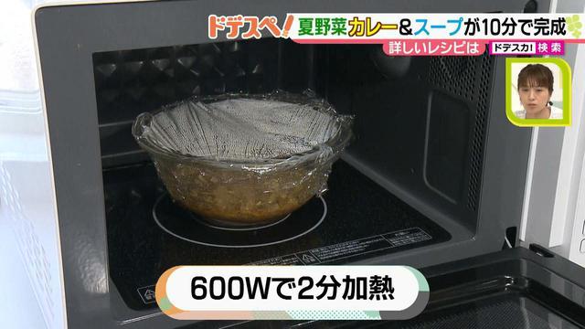 画像11: 暑い時期にオススメ! 火を使わないで10分以内で作れる、お手軽夏野菜カレー&スープレシピ