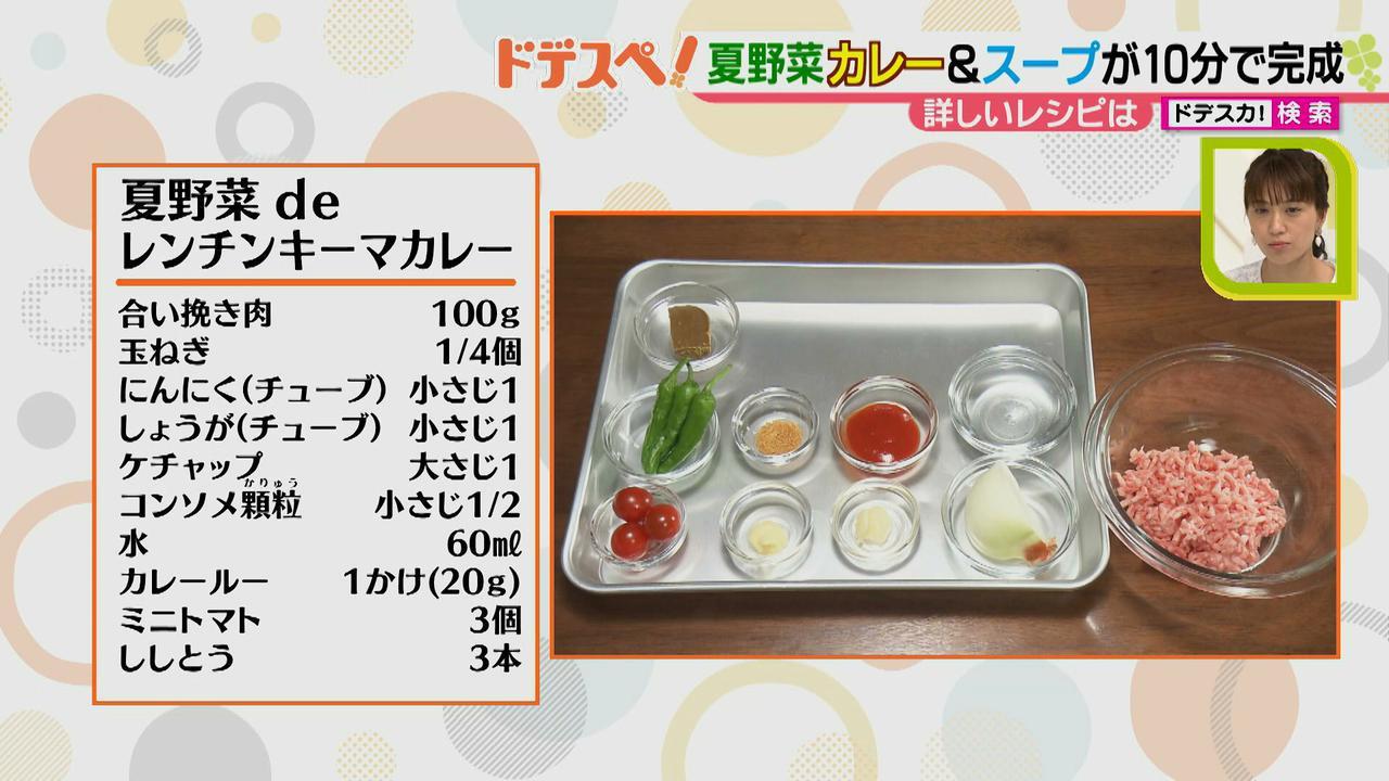 画像3: 暑い時期にオススメ! 火を使わないで10分以内で作れる、お手軽夏野菜カレー&スープレシピ