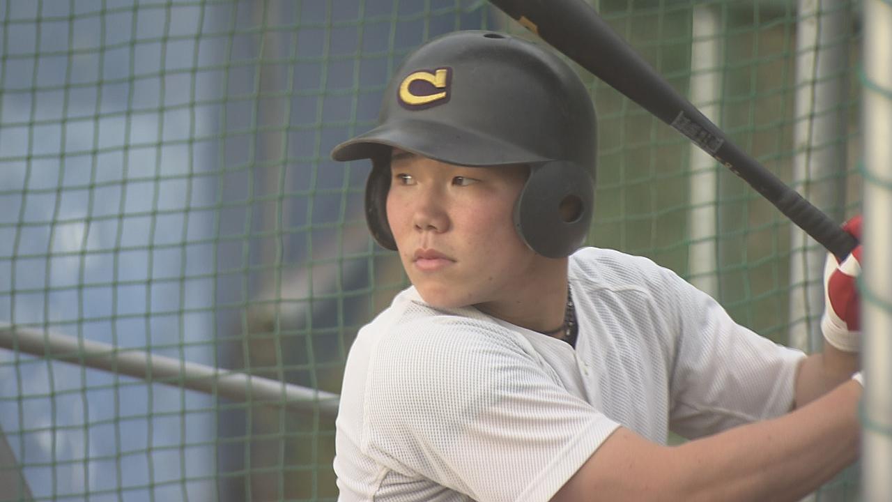 画像: 中京高校(岐阜)の小田康一郎選手