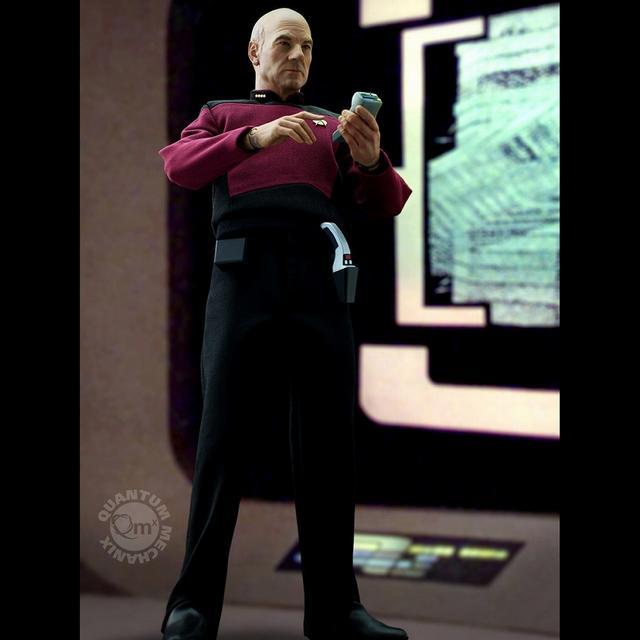 画像3: パトリック・スチュワートの肖像権をクリアした ジャン=リュック・ピカード艦長のアクションフイギュアが 8月発売決定!