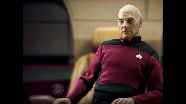 画像4: パトリック・スチュワートの肖像権をクリアした ジャン=リュック・ピカード艦長のアクションフイギュアが 8月発売決定!