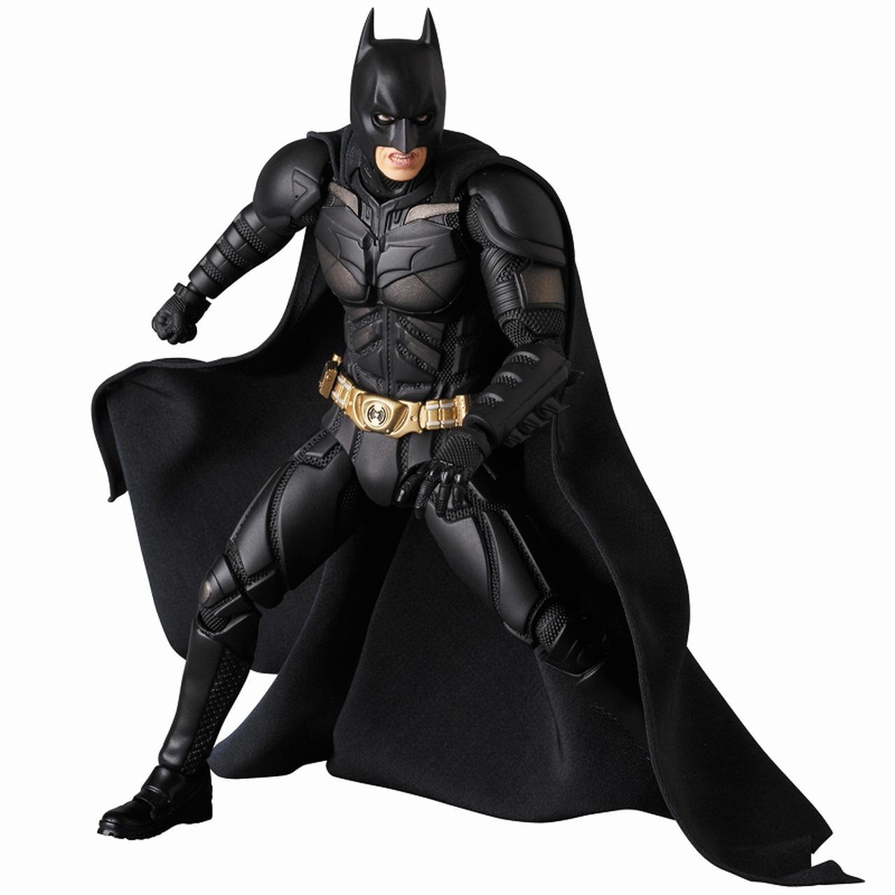 画像1: 『ダークナイト』でクリスチャン・ベールが演じたバットマンのディテールにこだわったフィギュアが登場!