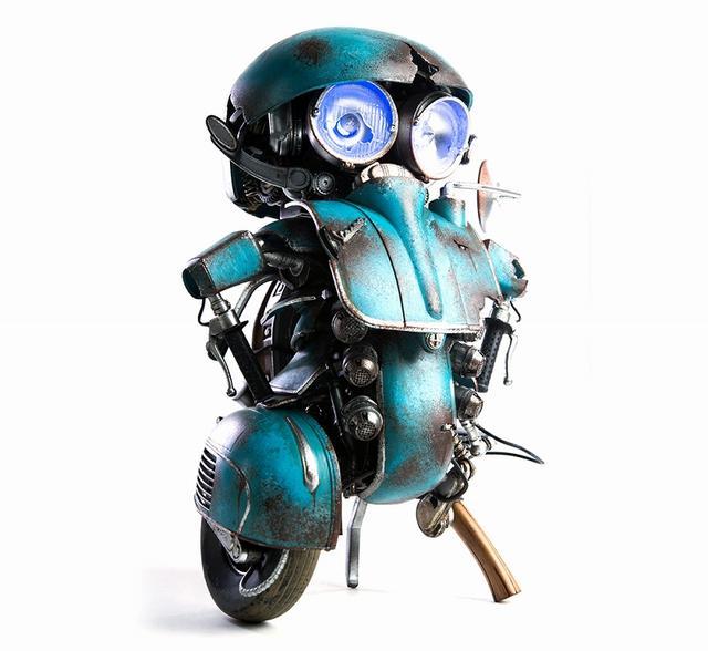 画像1: オートボット・スクィークス