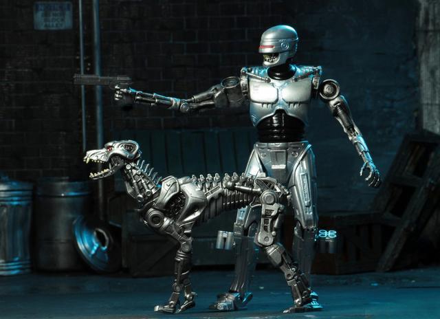 画像3: フランク・ミラーがライターを担当した『ロボコップ vs ターミネーター』よりエンド・コップとターミネーター・ドッグがアクションフィギュア化!