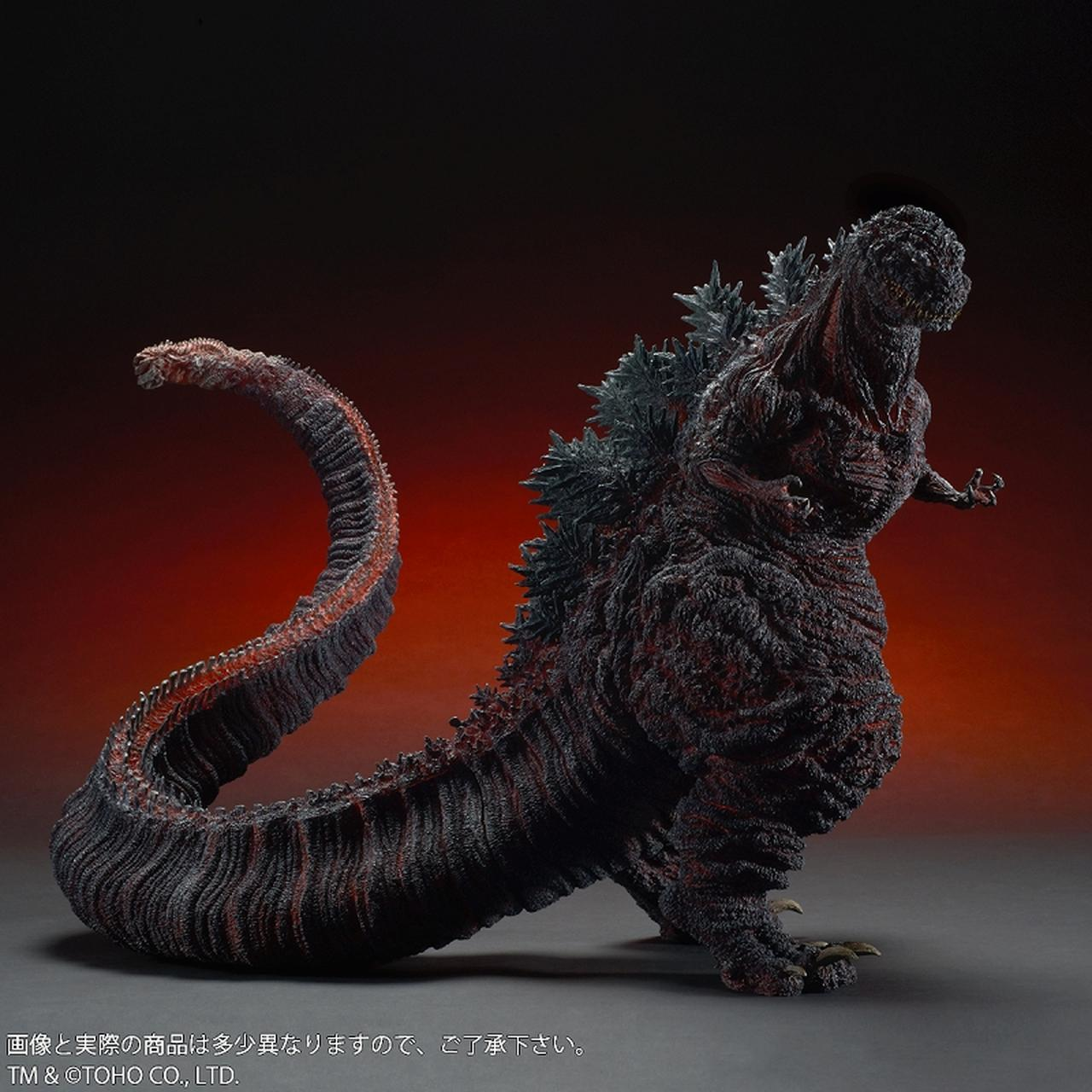 画像3: 全高約47センチ、全長約83センチ! 迫力のある「シン・ゴジラ」が 登場!