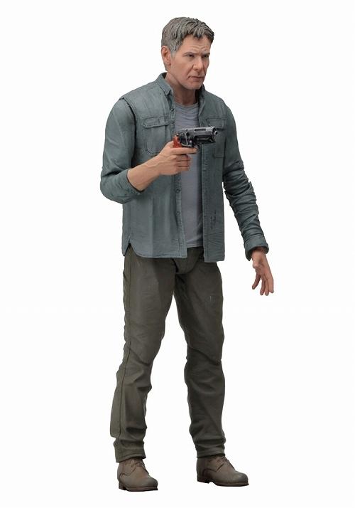 画像: 肖像権をクリアして製作された頭部は、7インチフィギュアクラスとは思えないクオリティ! 『ブレードランナー2049』でハリソン・フォード演じるリック・デッカードが単体発売!