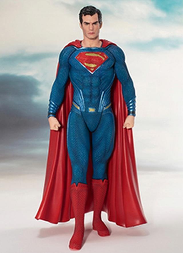 画像: 【予約品】【送料無料】ARTFX+ 「ジャスティス・リーグ」  スーパーマン 1/10 PVC 2017年11月発売予定 | シネマグッズ | SCREEN STORE