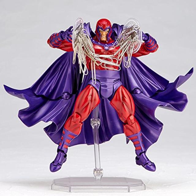 画像4: 最強のミュータントの一角、磁界王「マグニートー」。圧倒的ボリュームのマント&屈強な肉体を再現したフュギュア発売!