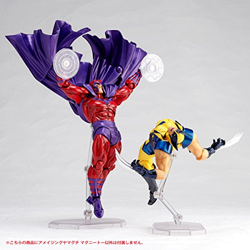 画像5: 最強のミュータントの一角、磁界王「マグニートー」。圧倒的ボリュームのマント&屈強な肉体を再現したフュギュア発売!