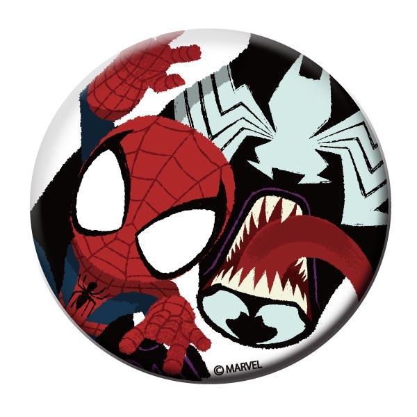 BIG 缶バッチ 《グリヒル スパイダーマン&ヴェノム》