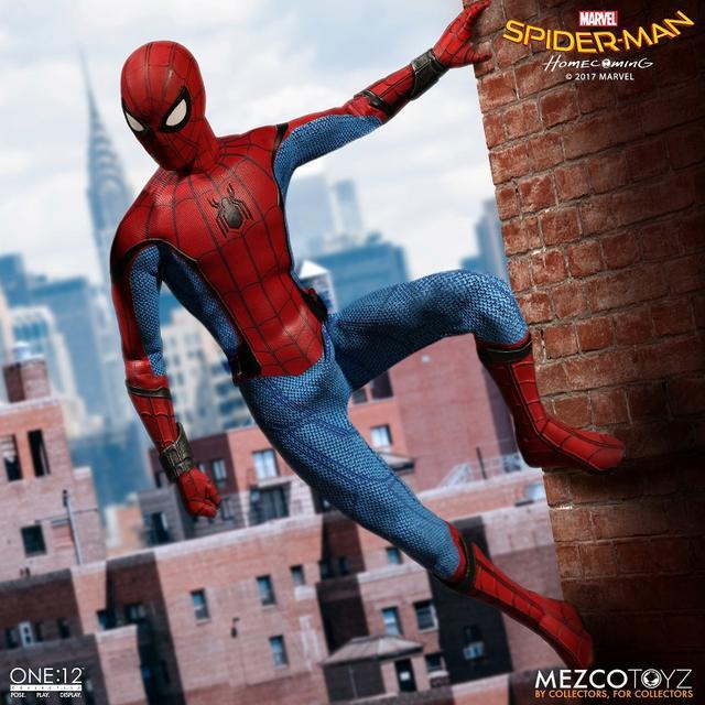 画像2: 若いスパイディ用の新型の細身ボディ素体、スパンデックス製のコスチュームなど、劇中で見せる姿を忠実に再現!  「スパイダーマン ホームカミング」 アクションフィギュア発売!