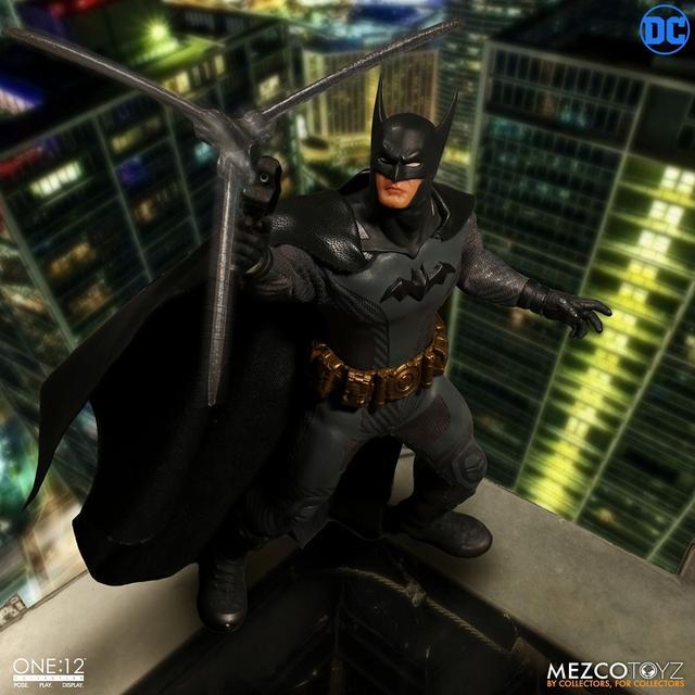 画像3: 「アセンディング・ナイト」版バットマンがフィギュア化! ケレン味あるコミックデザインならでは「バットマン」を再現