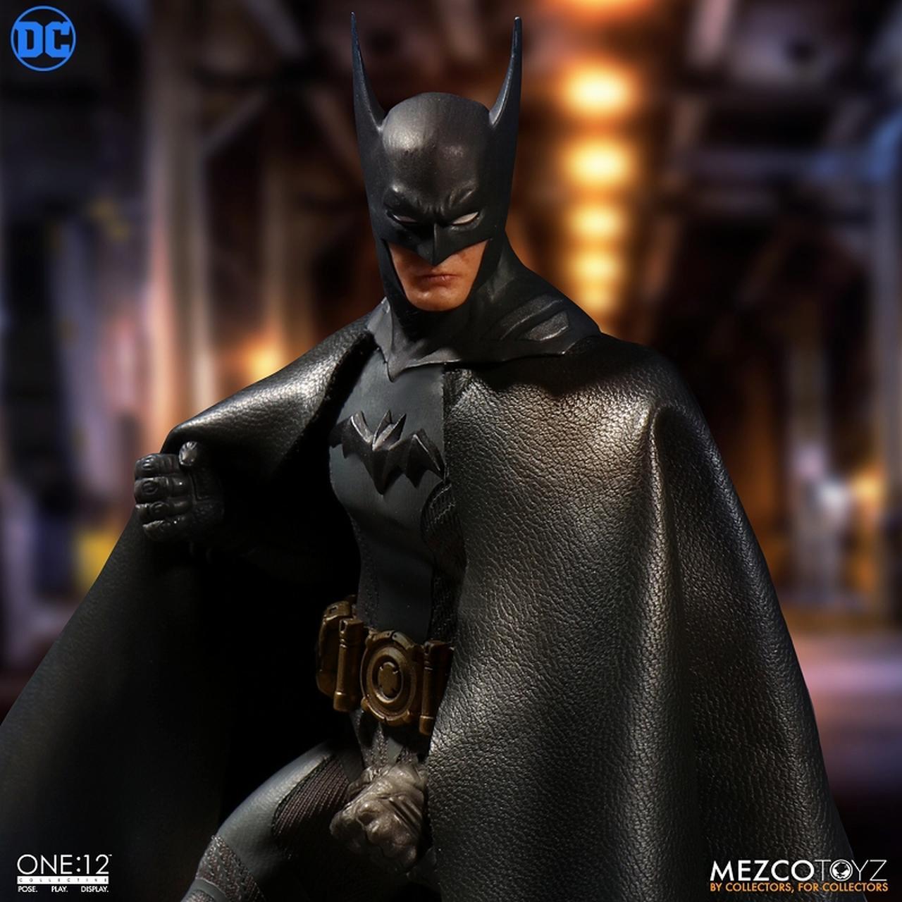 画像2: 「アセンディング・ナイト」版バットマンがフィギュア化! ケレン味あるコミックデザインならでは「バットマン」を再現