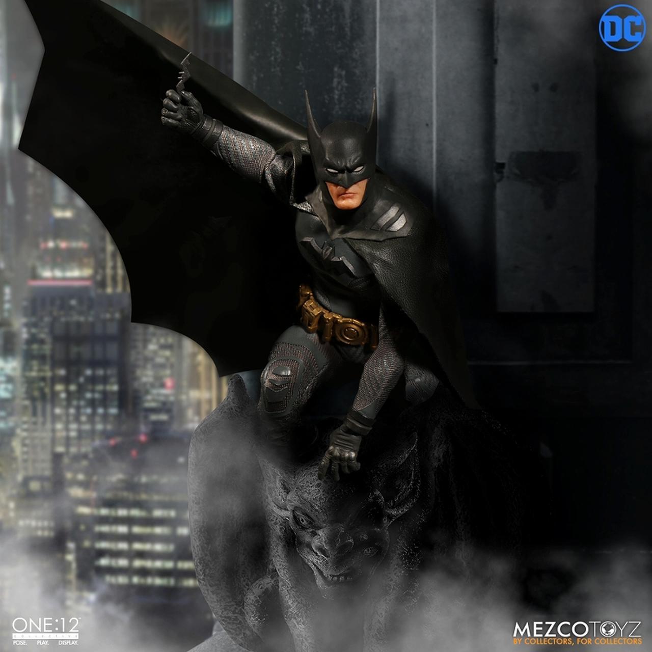 画像4: 「アセンディング・ナイト」版バットマンがフィギュア化! ケレン味あるコミックデザインならでは「バットマン」を再現