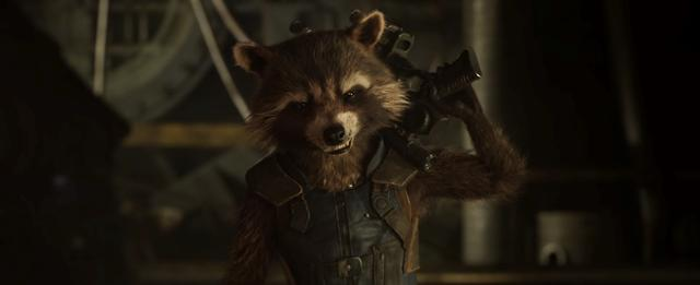 画像: 「ガーディアンズ・オブ・ギャラクシー」のロケット (c)Marvel