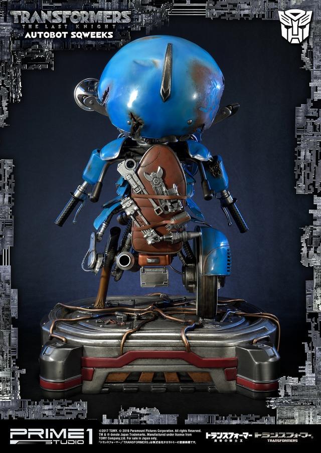 画像3: 撮影用プロップのような高いクオリティを実現した プライム1スタジオの新作「トランスフォーマー 最後の騎士王』から「スクィークス」が登場!