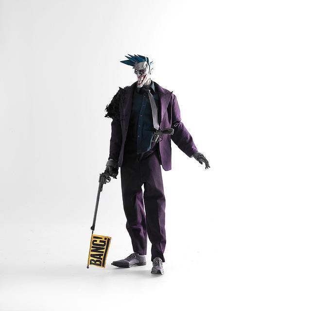 画像1: threeAとDCコミックスのコラボレーションシリーズ 『スティールエイジ』の新作に、 バットマンの宿敵「ジョーカー」が登場!