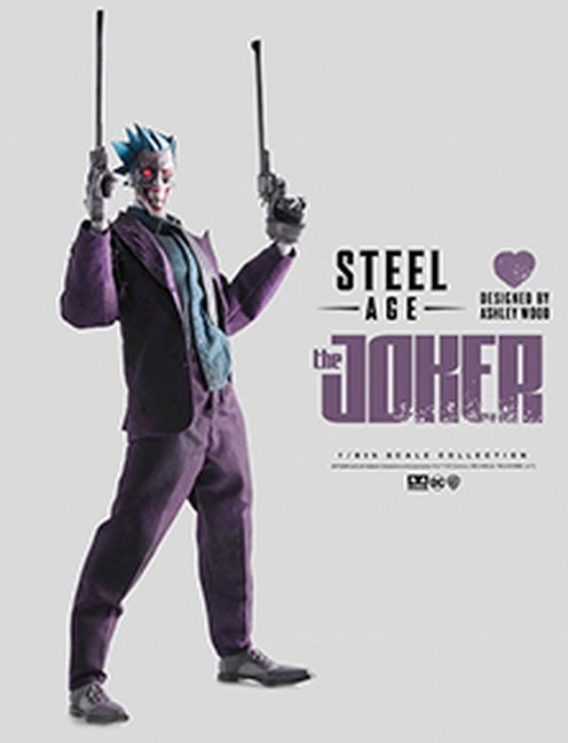 画像: 【予約品】【送料無料】スティールエイジ 「ジョーカー」 1/6 アクションフィギュア 2018年5月発売予定 | シネマグッズ | SCREEN STORE