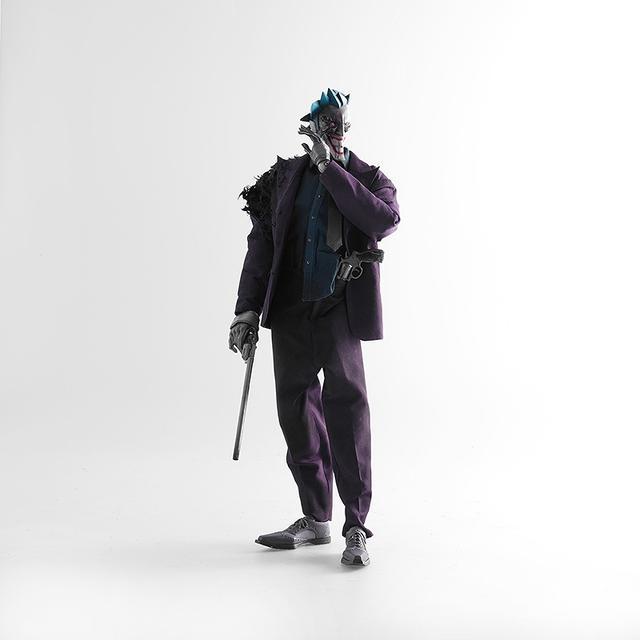 画像2: threeAとDCコミックスのコラボレーションシリーズ 『スティールエイジ』の新作に、 バットマンの宿敵「ジョーカー」が登場!