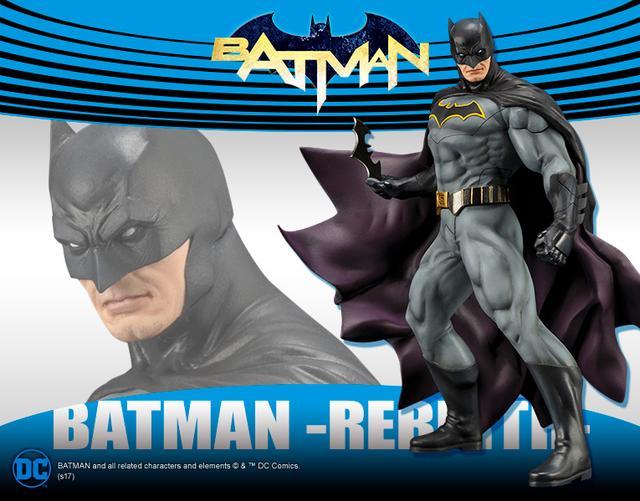 画像1: 「バットマン」 ARTFX+ バットマン REBIRTH