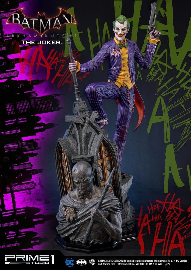 画像1: プライム1スタジオから犯罪王の風格が漂うジョーカーが驚愕の出来で立体化!世界限定800体!!