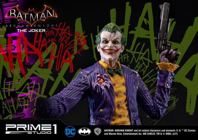 画像2: プライム1スタジオから犯罪王の風格が漂うジョーカーが驚愕の出来で立体化!世界限定800体!!