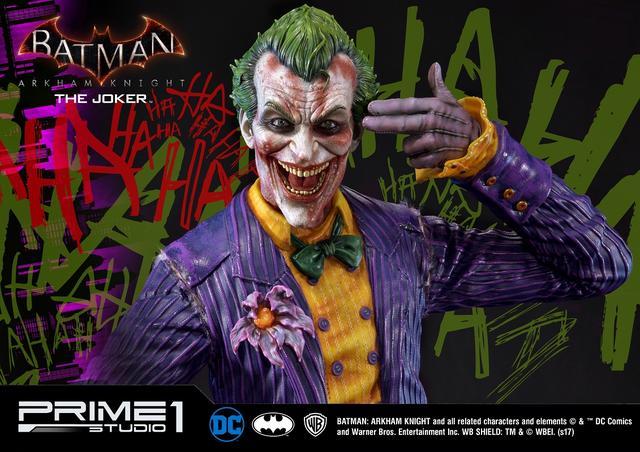 画像3: プライム1スタジオから犯罪王の風格が漂うジョーカーが驚愕の出来で立体化!世界限定800体!!