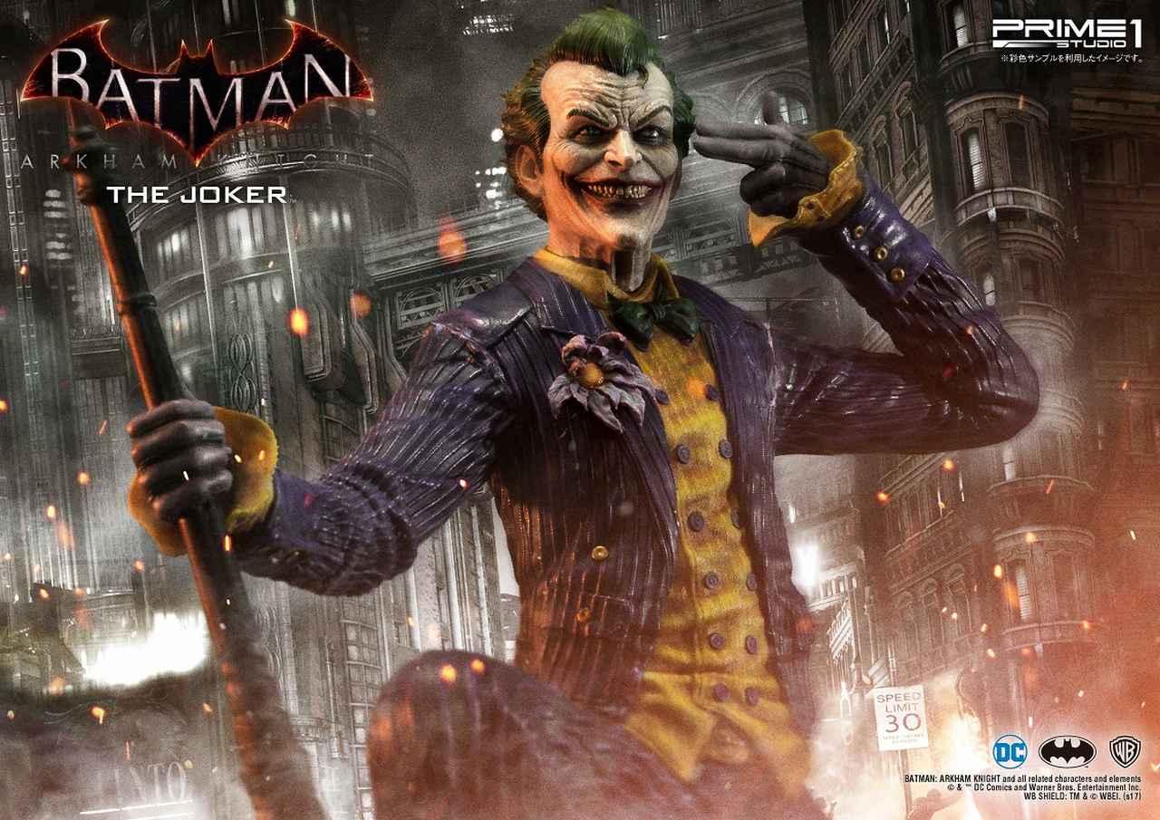 画像7: プライム1スタジオから犯罪王の風格が漂うジョーカーが驚愕の出来で立体化!世界限定800体!!