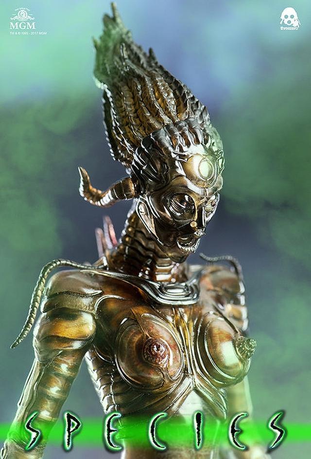 画像3: 美しくもグロテスクな女性型エイリアン「シル」が1/6スケールで可動フィギュア化!