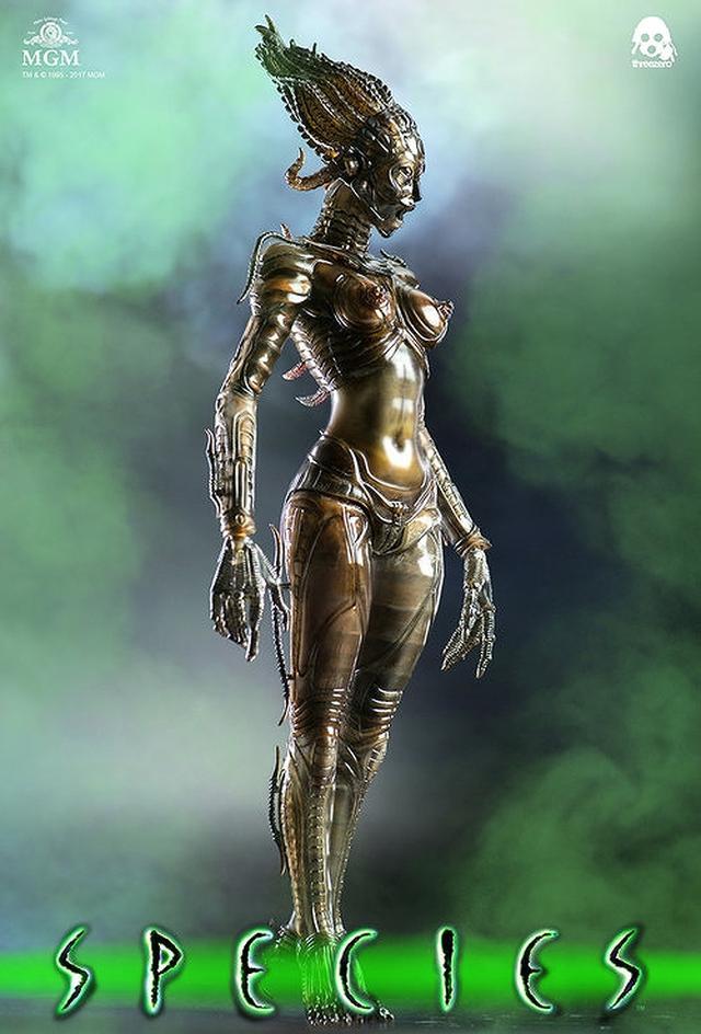 画像4: 美しくもグロテスクな女性型エイリアン「シル」が1/6スケールで可動フィギュア化!